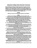 Independent Reading Task/Over 25 Clear Tasks: In A Diferen