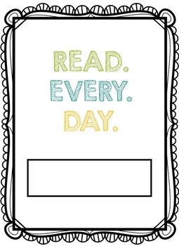 Independent Reading Tracker: Summer Edition
