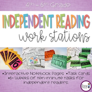 Independent Reading Work Stations