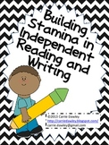 Independent Reading and Writing Stamina Graphs