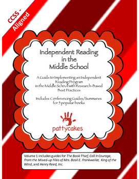 Independent Reading in the Middle School - A Complete How-To Manual, Vol. 1