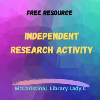 Independent Research Activity