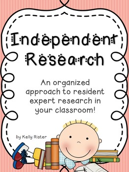 Independent Research- An Organized Approach to Resident Expert Projects