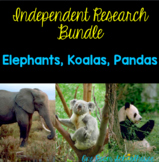 Independent Research Bundle: Koalas, Elephants, and Pandas