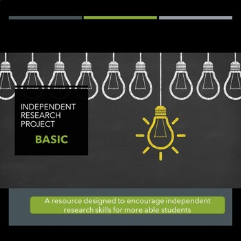 Independent Research Project - basic