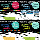 Independent Research Projects for Google Slides and Early