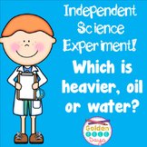 Independent Science Experiment Grades  3 & 4
