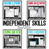 Independent Skills - Boom Cards & Interactive PDF BUNDLE