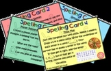 Independent Spelling Strategy Cards for children - Element
