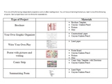 Independent Student Projects with Rubrics