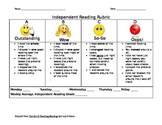 Independent Student Reading Rubric to be used for self-evaluation