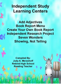 Independent Studies Learning Centers Teacher Resources Fun Engaging