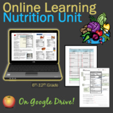 Nutrition Independent Study Unit Digital Resource: On GOOGLE DOCS or to PRINT!