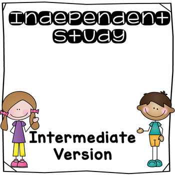 Independent Study Planning Guide Intermediate Version