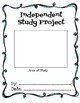 Independent Study Student Notebook