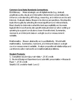 Independent Study for High School Physical Science