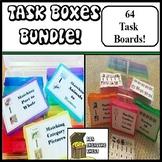 Independent Task Boxes Bundle Set 1 & 2 Autism ABA