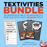 Independent Textivities BUNDLE: 36 reproducible worksheets