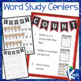 Independent Word Study Centers for Any Spelling List
