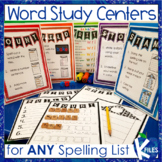 Word Study Centers and Spelling Activities for Any List