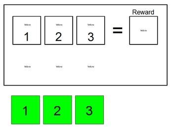 Independent Work - 3 Tasks to Earn Reward Board