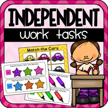 Independent Work Activities for Special Education (US Version)