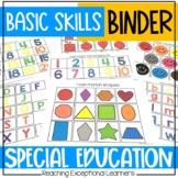 Basic Skills Mega Binder- Special Education