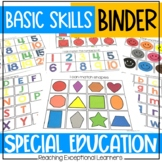 Basic Skills Binder for Special Education