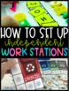Independent Work Stations {starter pack}