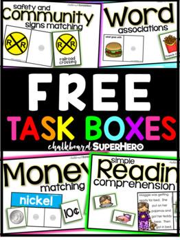FREE task boxes