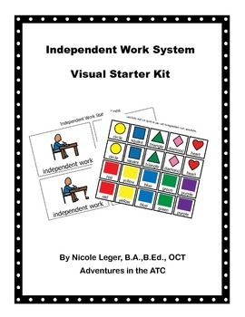 Independent Work System Starter Kit
