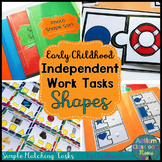 Independent Work Tasks Shape Matching for Early Childhood and Special Education
