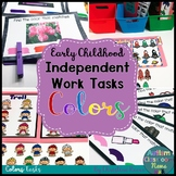 Independent Work Tasks for Early Childhood & Special Educa