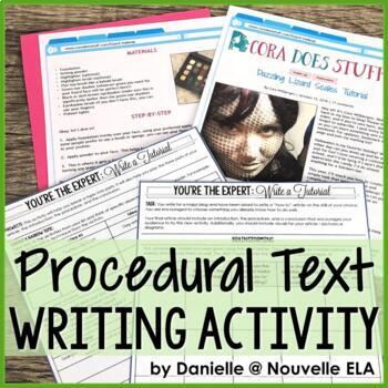 Independent Writing Activity - Procedural Article