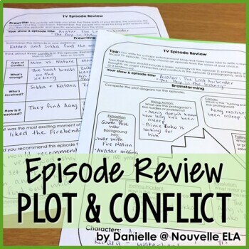Independent Writing Activity - TV Episode Review