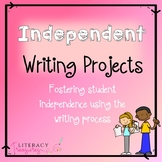 Independent Writing Projects and a Variety of Writing Templates