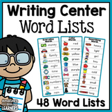 Writing Center Lists - Interactive Word Wall