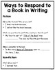 Independent Writing for Kindergarten