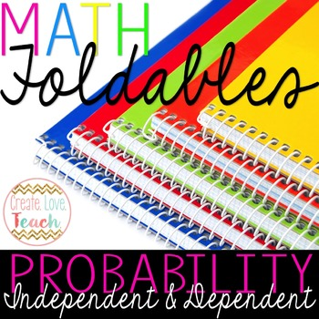 Independent and Dependent Events in Probability: Foldable and Activity Page