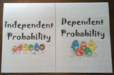 Independent and Dependent Proability Foldable Notes SOL 6.