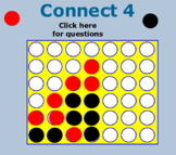 Independent and Dependent Probability Connect 4 SOL 7.8 and 8.11