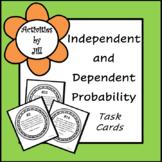 Independent and Dependent Probability Task Cards (Digital/PDF)