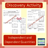 Independent and Dependent Quantities Activity (with Do Now and Exit Ticket)