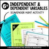 Independent and Dependent Variables Scavenger Hunt Activity