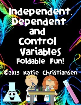 Independent and Dependent Variables Foldables