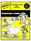 French reading worksheets- Present tense
