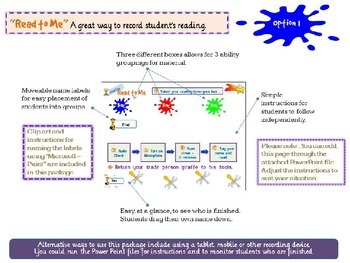 Online Reading - Novelty Giraffes - Grades 1 & 2 - Independent work
