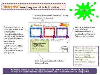 Reading Online - Space Aliens - Grades 3 & 4 - Independent activity