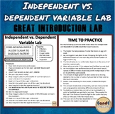 Independent vs. Dependent Variable Lab/ Virtual or Online