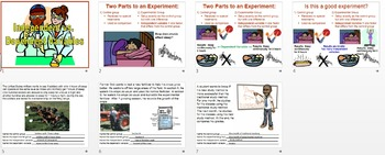 Independent vs. Dependent Variables PowerPoint (& free worksheet)